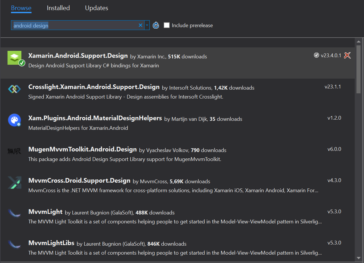 Material design edit text for Xamarin Android | Ulrich Bodentien
